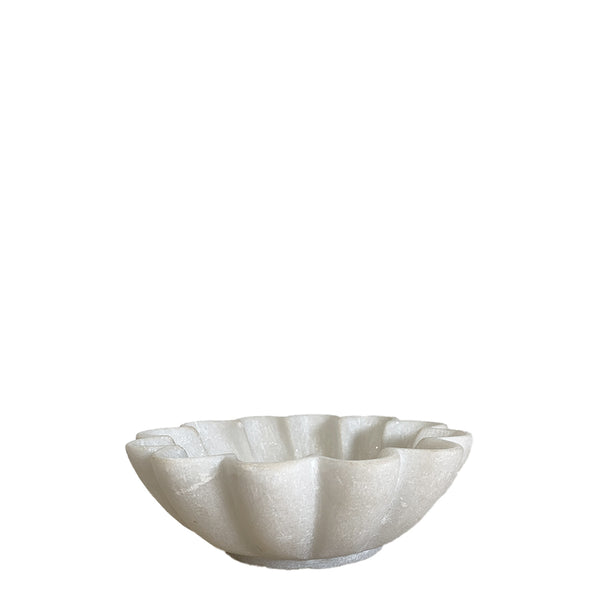 marble lotus bowl small