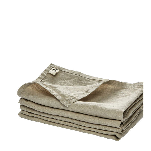 linen napkin set natural