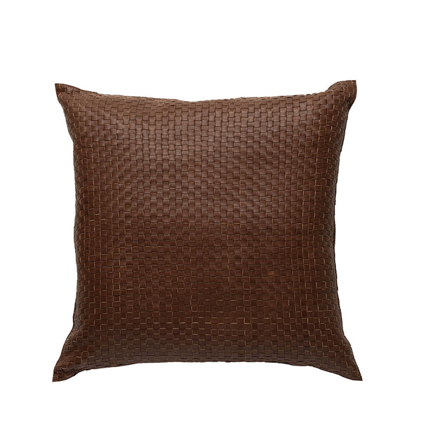 nappa tan cushion square