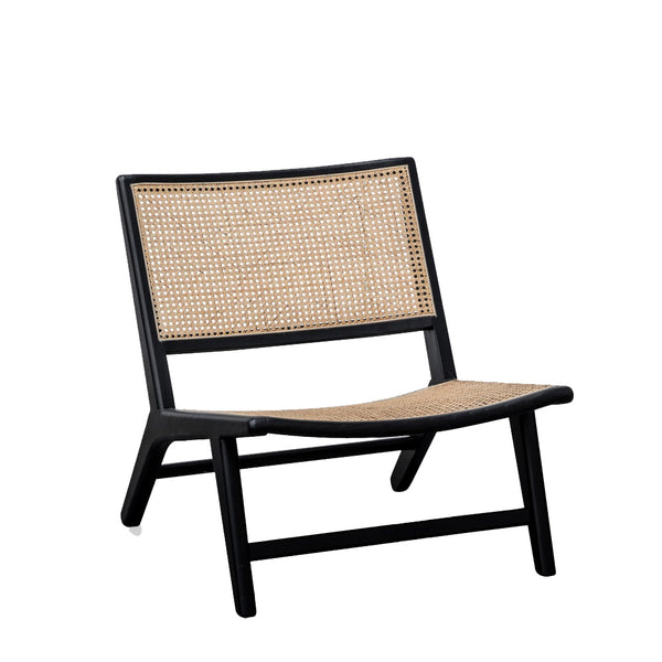 noir rattan chair