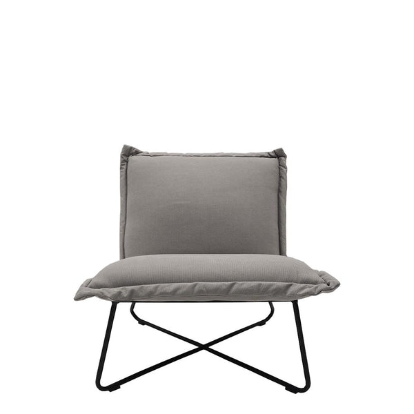 studio chair grey