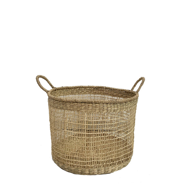 open weave basket large
