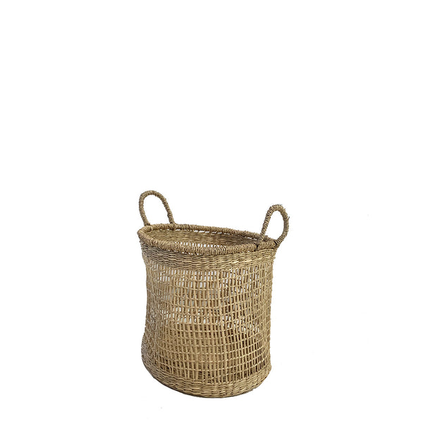 open weave basket small