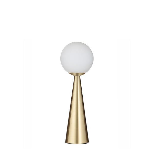 orion table lamp - brass