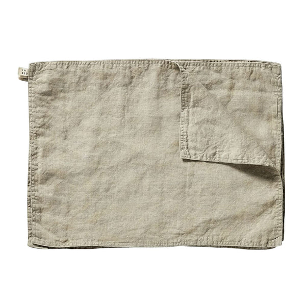 linen placemat set natural