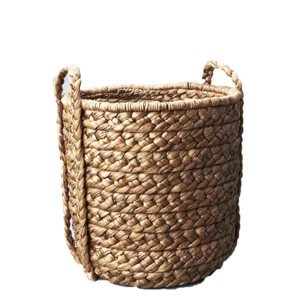 cane plaited basket tall