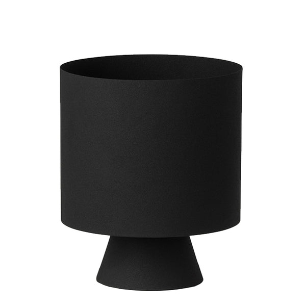 mona planter large - black