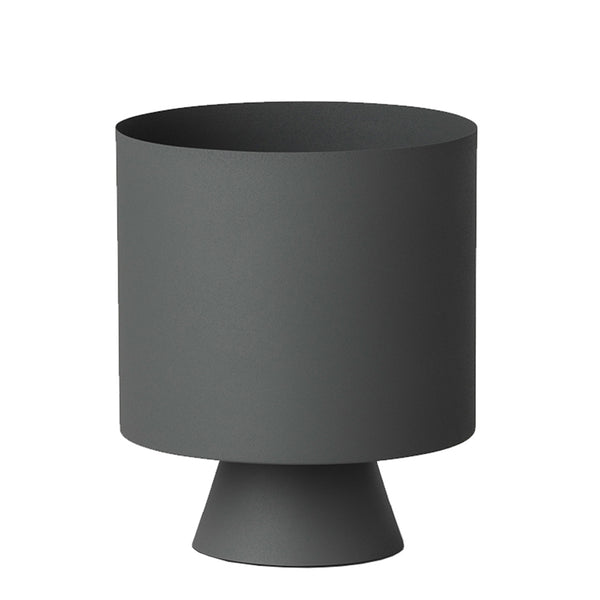 mona planter large grey