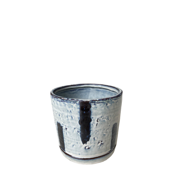 speckled pot small