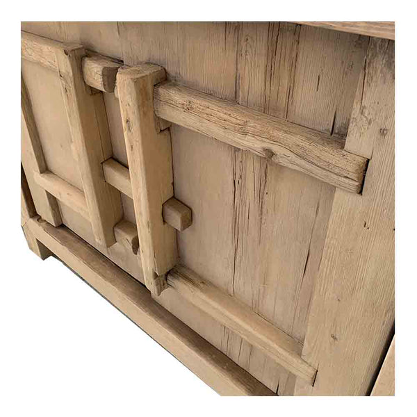 recycled timber barn door buffet