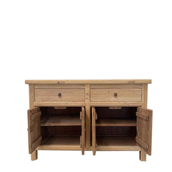 recycled elm cabinet