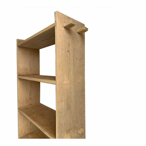 recycled timber bookcase 2