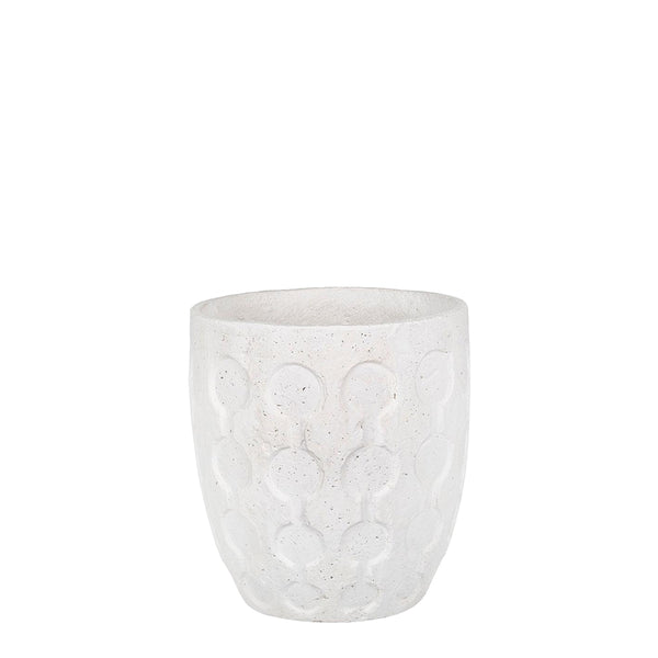 rily planter white large