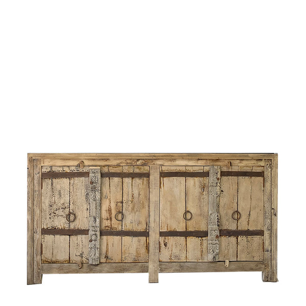 rustic door console - natural