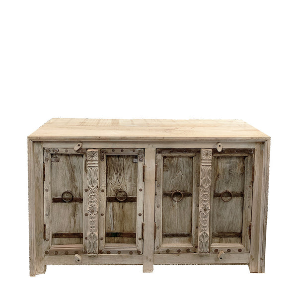 rustic door console - small