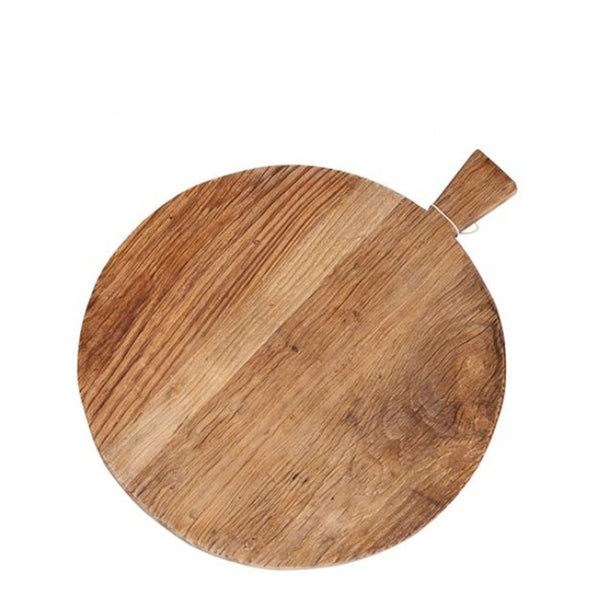elm board with handle round