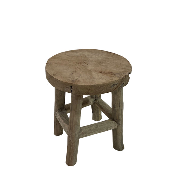 lesung timber stool/side table