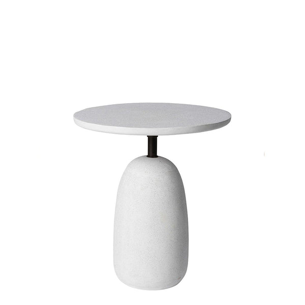 kellan side table white