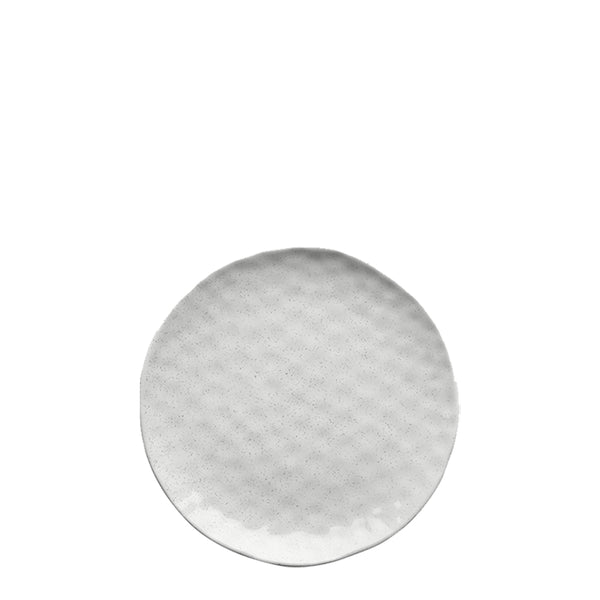 speckle side plate white