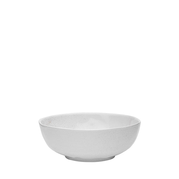 speckle bowl white