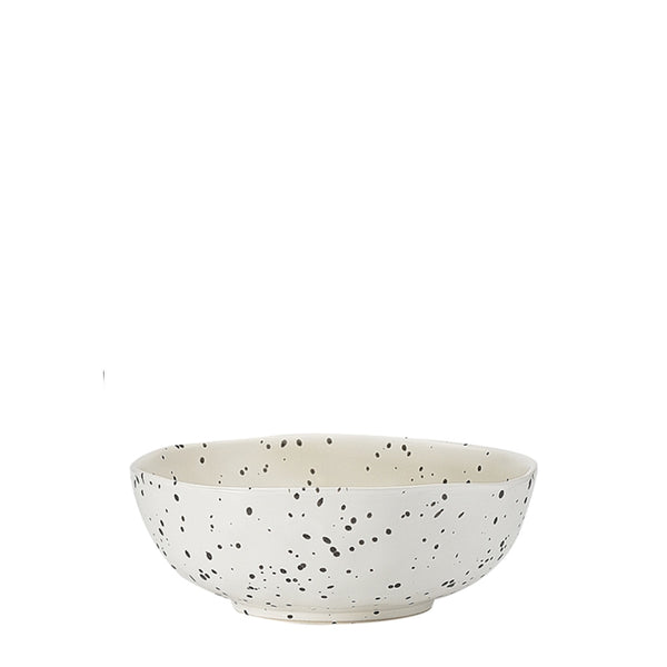 speckle polka bowl