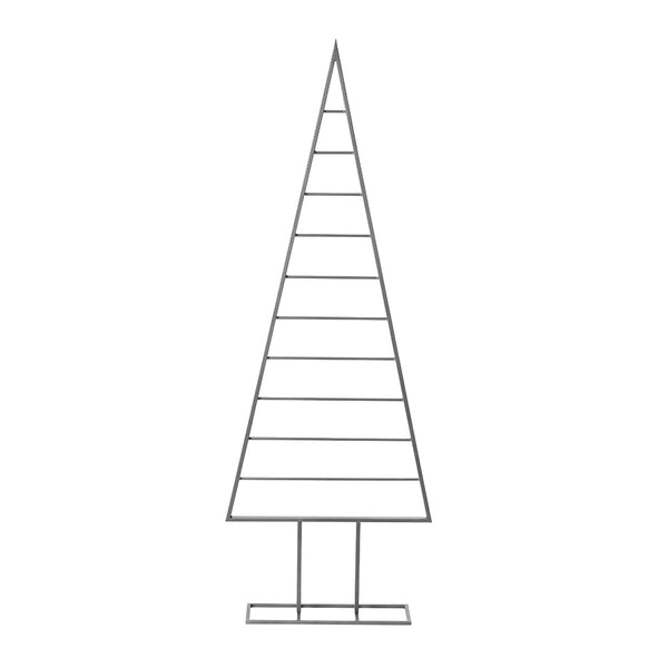 minimalist xmas tree large - grey