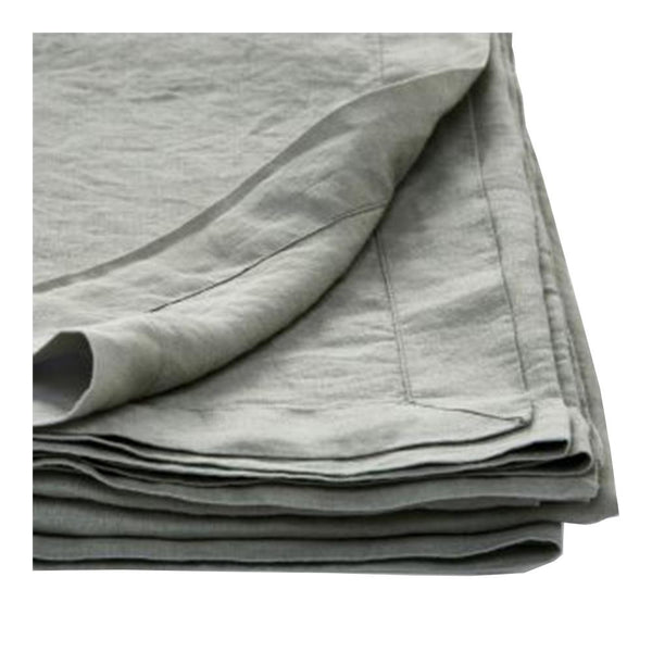 100% linen tablecloth - stone large