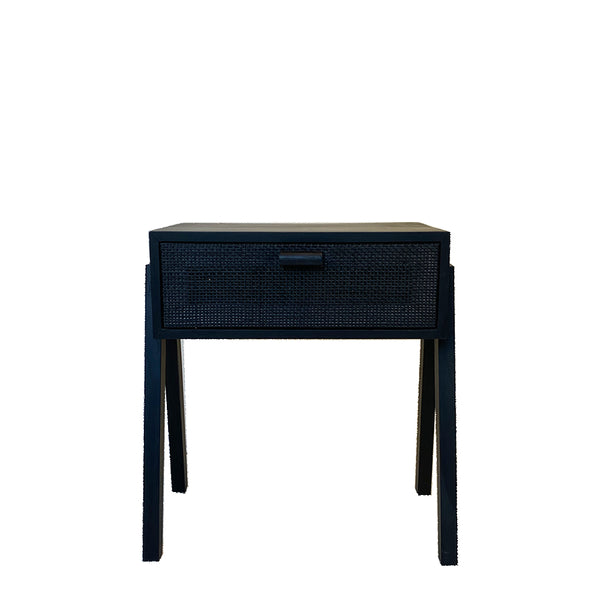 sunday bedside table black