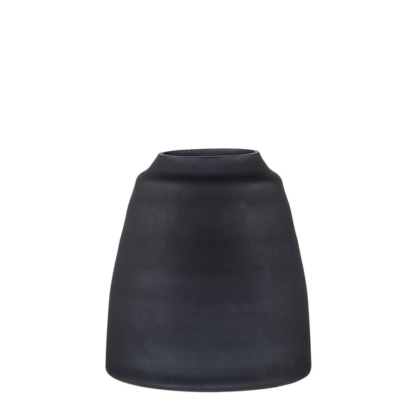 tapered vase black