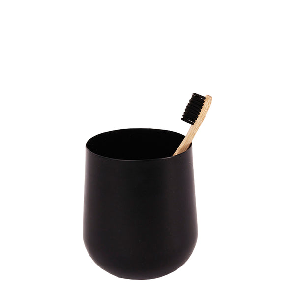 lale toothbrush holder black