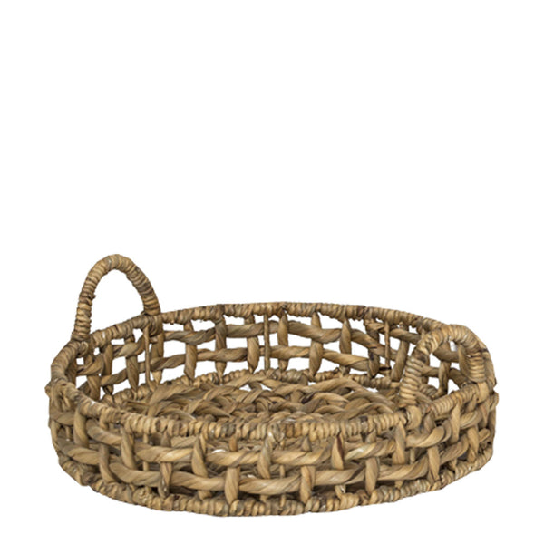 hand woven tray large
