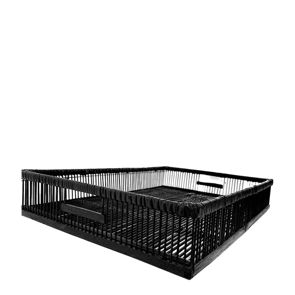 open black tray medium
