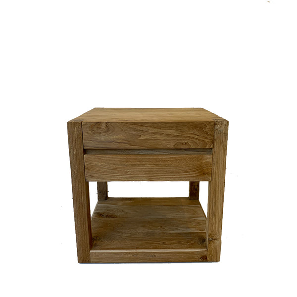 urban bedside table natural - PRE-ORDER