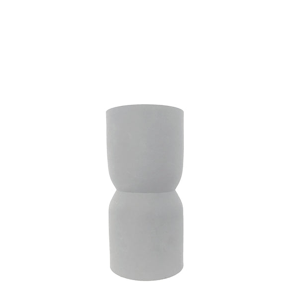 nell vase small - pale grey