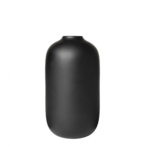 taro vase black large