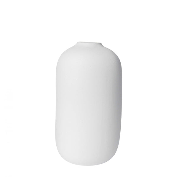 taro vase white large
