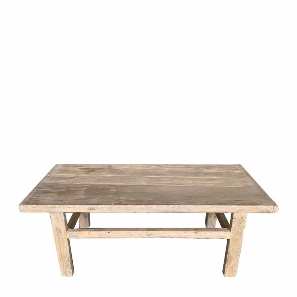 vintage elm coffee table 1
