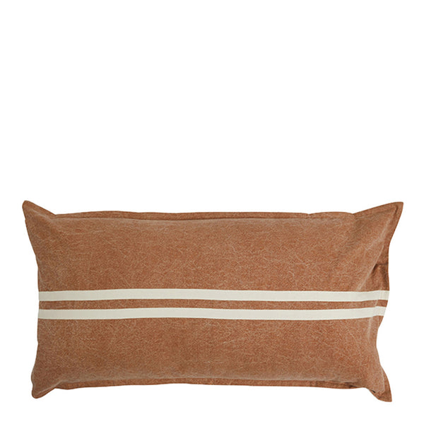 wanderful cushion rectangle - tan/natural