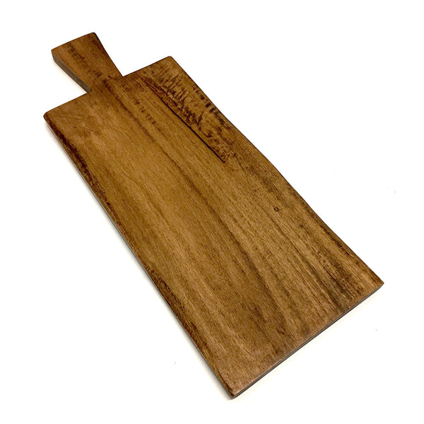 wood serving board - with handle