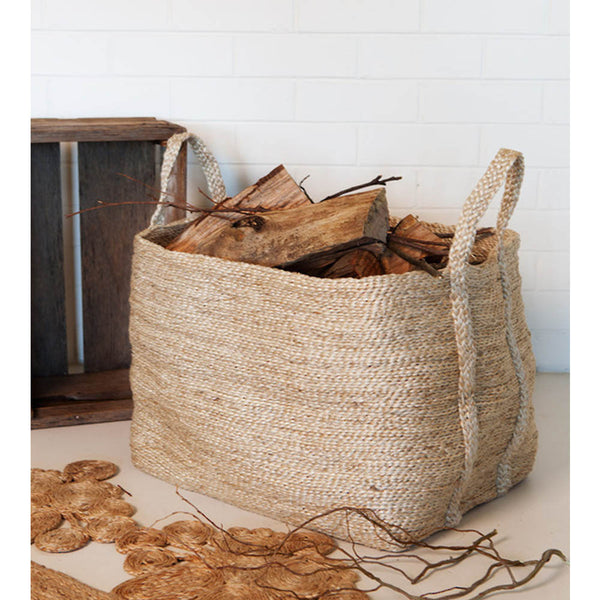 jute basket natural extra large