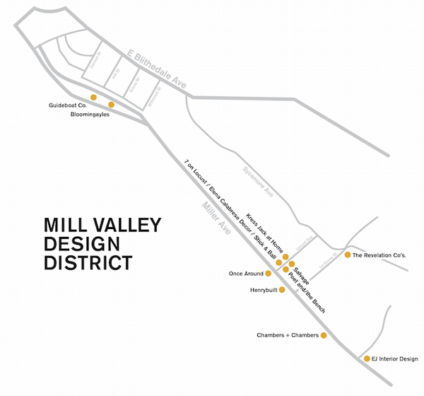 Mill Valley Design District Launches Online