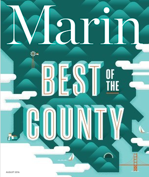 "Marin Magazine Honors Poet and the Bench ""Best of Marin County"""