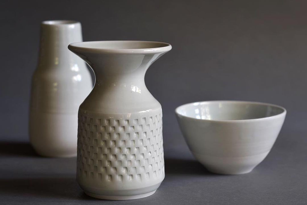 Bob Dinetz is a member of The Berkeley Potter's Studio, making elegant wheel thrown pottery inspired by a variety of masters, but especially midcentury Japanese.