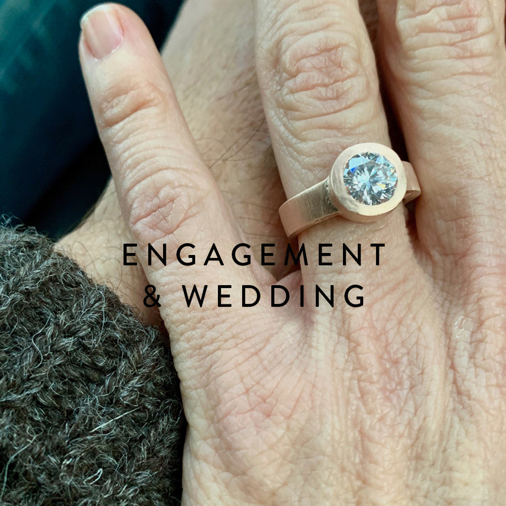 Jeffrey Levin Custom Jewelry Design of Engagement and Wedding Bands, Commitment Rings, Redesign an old Heirloom.