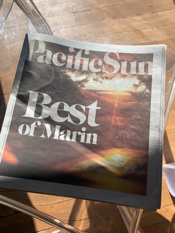 PacificSun | Best of Marin County | Best Gifts | Poet and the Bench