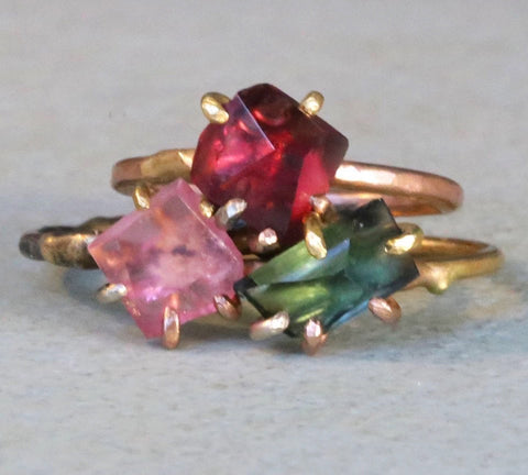 Variance Objects_Gemstone Rings