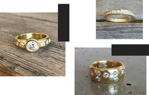 Jeffrey Levin Jewelry_Custom Diamond Rings