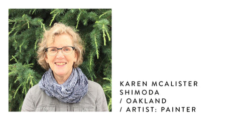 Karen McAlister Shimoda_Poet and the Bench