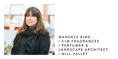 Manuela King-S+M Fragrances | Poet and the Bench