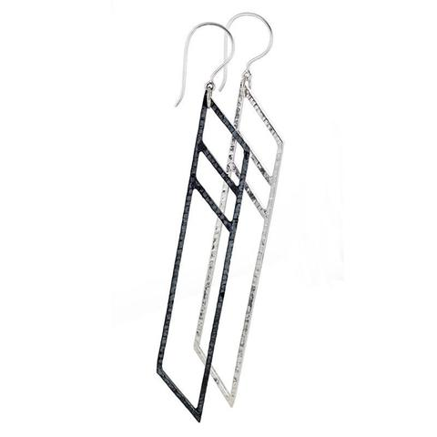 Mariella Pilato_Black and White Earrings